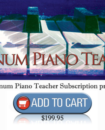 "Annual Platinum Piano Teacher ""Cool Songs"" Subscription - Music Motivation (Jerald Simon)"