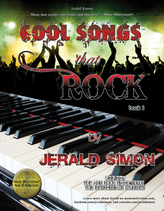 Cool Songs that ROCK! by Jerald Simon - published by Music Motivation