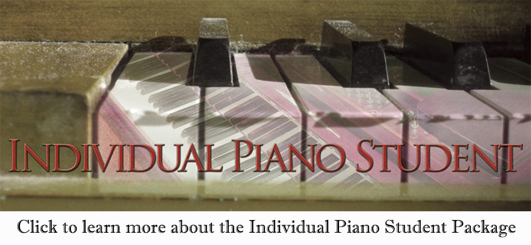 Individual Piano Student - Cool Songs package by Jerald Simon - Music Motivation