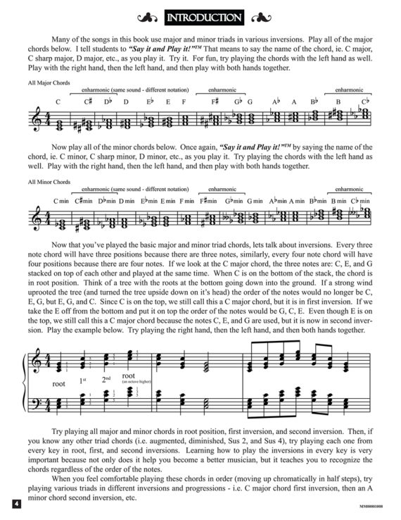 """Intro from the book """"Triumphant"""" by Jerald Simon - published by Music Motivation"""