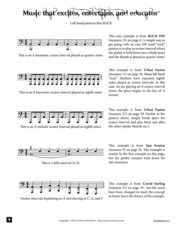 "Intro 1 by Jerald Simon - from the book ""Cool Songs that ROCK!"" book 1) - published by Music Motivation"