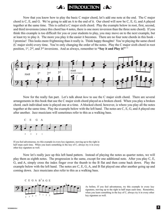 Intro by from the book, Jazzed about 4th of July (published by Music Motivation)