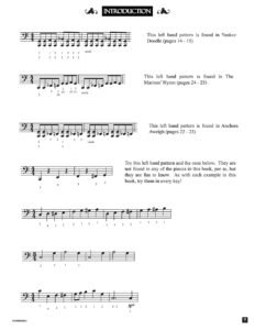 Intro 3 Intro by from the book, Jazzed about 4th of July (published by Music Motivation)