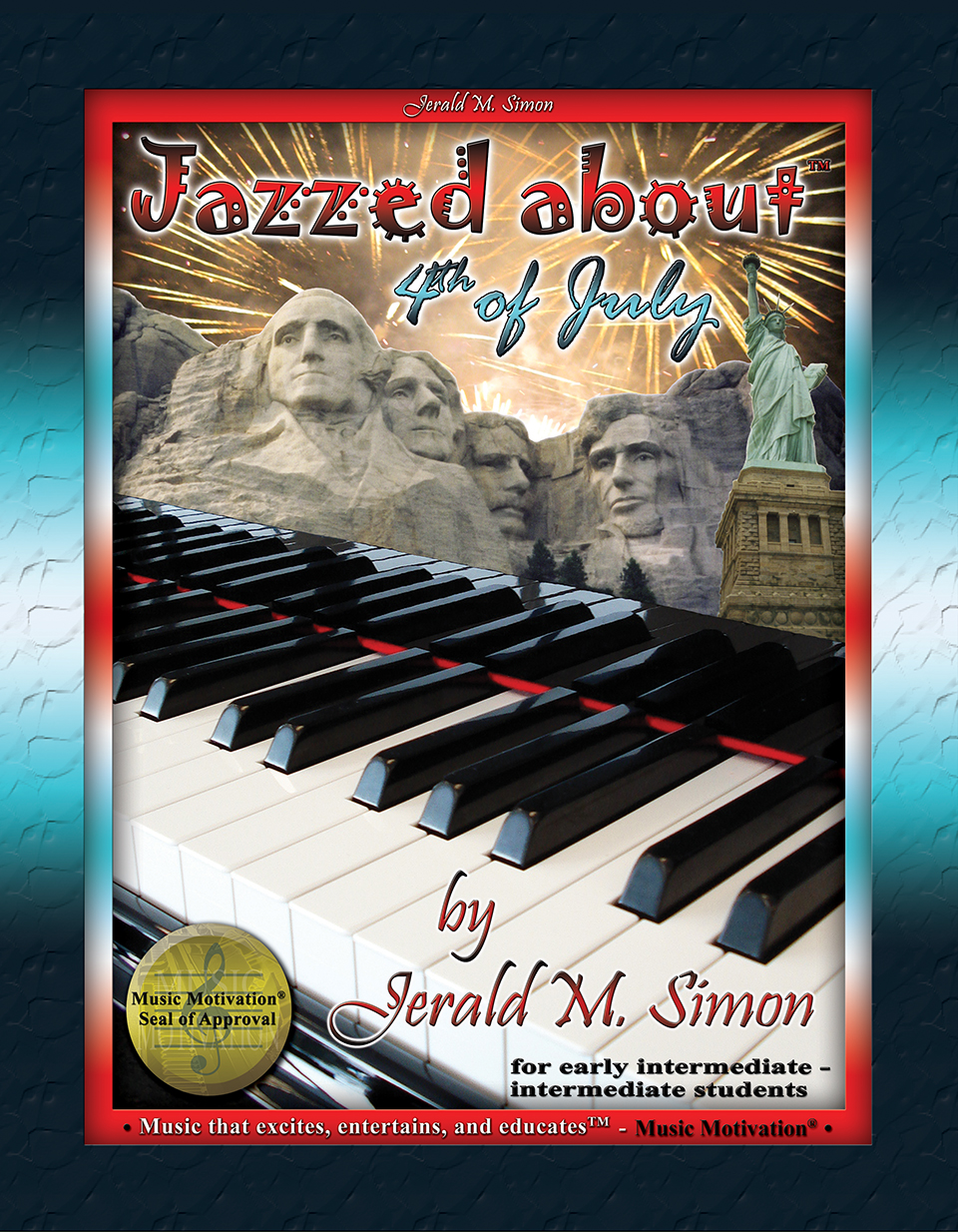 Jazzed about 4th of July - PDF download (single use license)