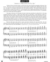 Lesson 2 Lesson – from the book Sea Fever by Jerald Simon (published by Music Motivation)
