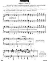 Lesson 3 Lesson – from the book Sea Fever by Jerald Simon (published by Music Motivation)