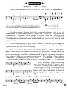 Lesson 4 Lesson from the book Hymns of Exaltation by Jerald Simon (published by Music Motivation)