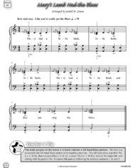 Variations on Mary Had a Little Lamb by Jerald Simon – published by Music Motivation