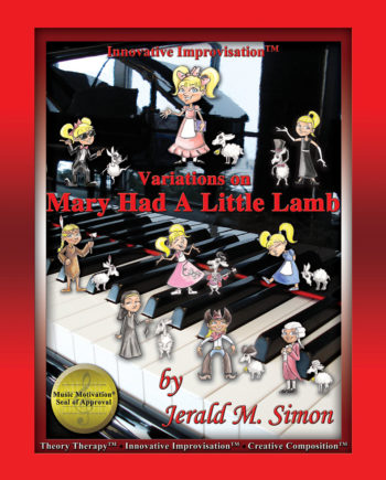 Variations on Mary Had a Little Lamb by Jerald Simon - published by Music Motivation