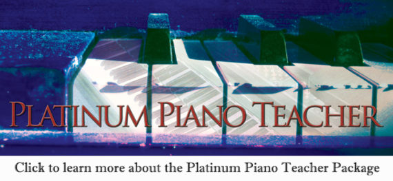 Platinum Piano Teacher - Cool Songs package by Jerald Simon - Music Motivation