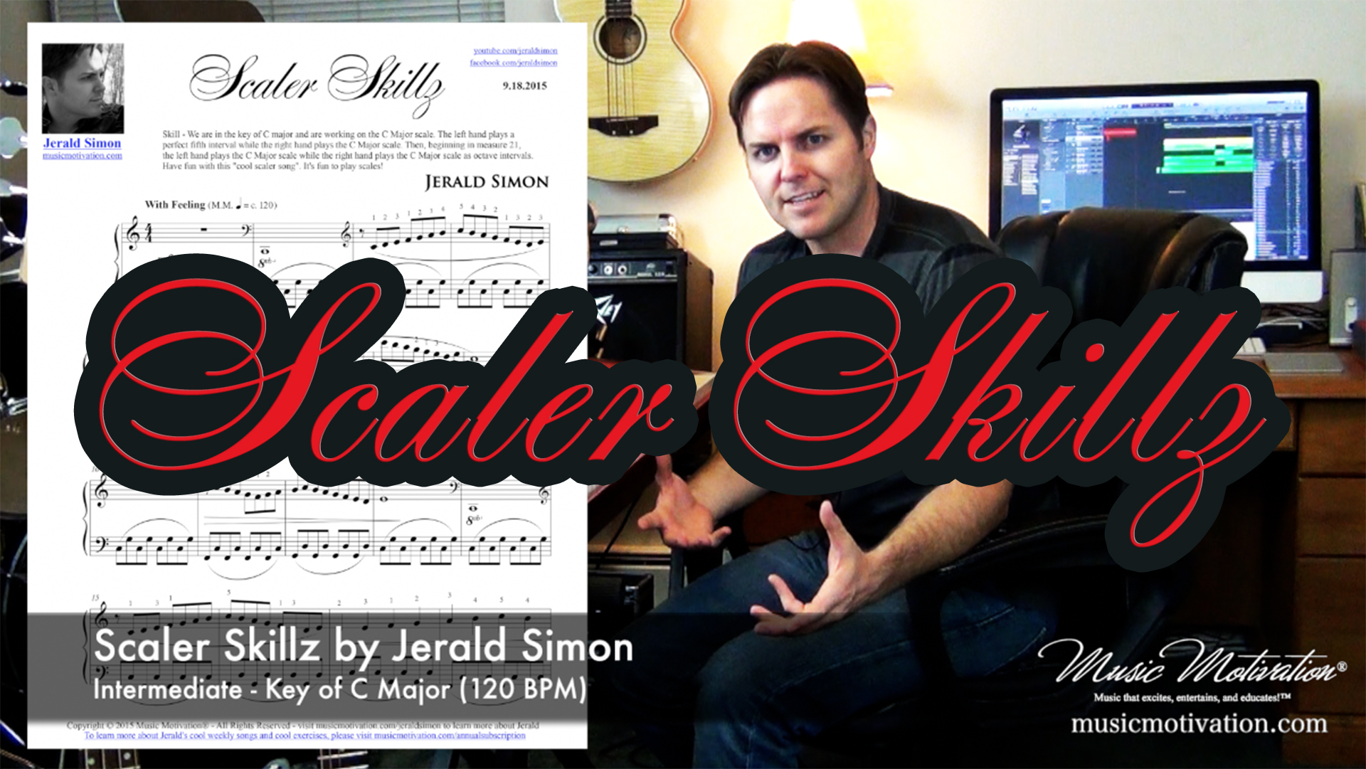 Motivate piano students with Music Motivation by Jerald Simon