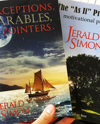 Self Help/Motivational books by Jerald Simon - published by Music Motivation.