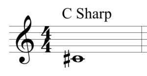 C Sharp by Jerald Simon - Music Motivation
