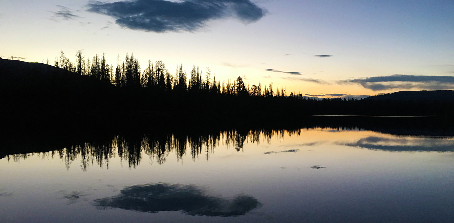 Motivation in a Minute by Jerald Simon - Uinta Sunset by Jerald