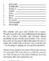 Who Are You? Inside page 6 sample by Jerald Simon - published by Music Motivation