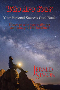 Who Are You? Your personal success goal book by Jerald Simon – published by Music Motivation