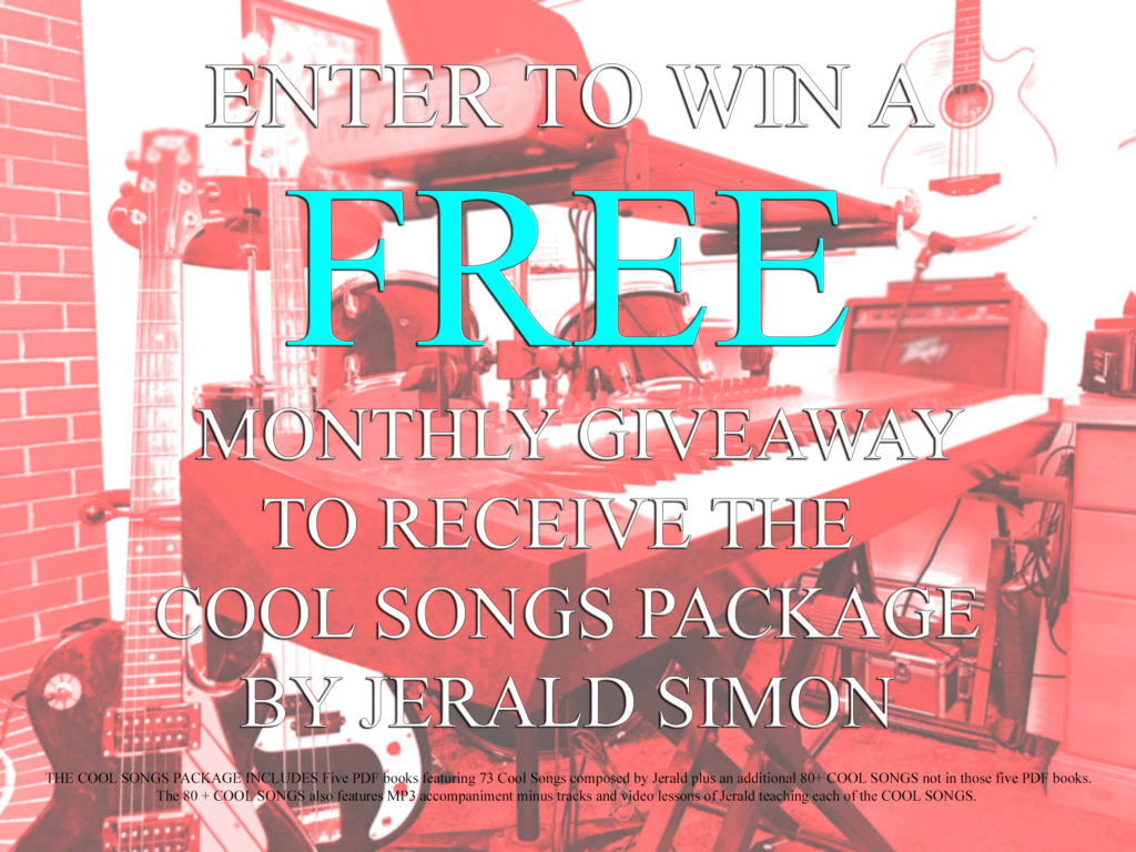 Enter to win FREE Giveaway by Jerald Simon (Music Motivation)