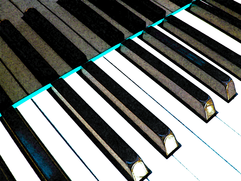 Sky Blue Lining (Piano Keys) by Jerald Simon (Music Motivation) - musicmotivation.com