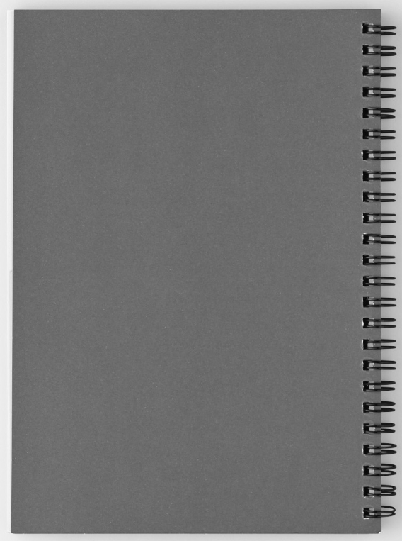 Back image of Spiral Note book by Jerald Simon (Music Motivation - musicmotivation.com)