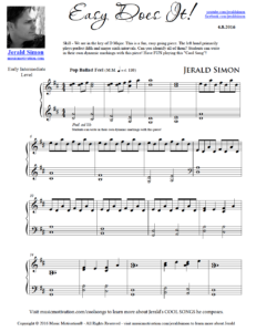 Image of Easy Does It by Jerald Simon (Music Motivation)