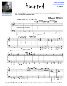 Image of Haunted by Jerald Simon (Music Motivation)