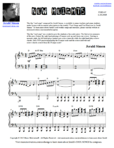 Image of New Heights by Jerald Simon (Music Motivation)
