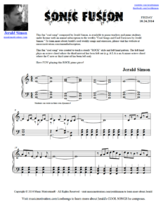 Image of Sonic Fusion by Jerald Simon (Music Motivation)