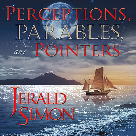 5. Perceptions, Parables, and Pointers (Album Cover) - by Jerald Simon (Produced by Music Motivation - musicmotivation.com)
