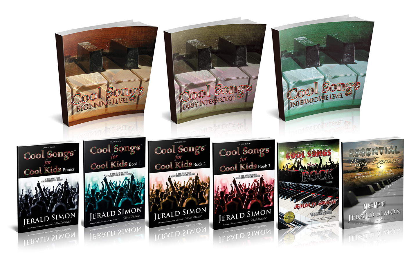 COOL SONGS series by Jerald Simon - published by Music Motivation