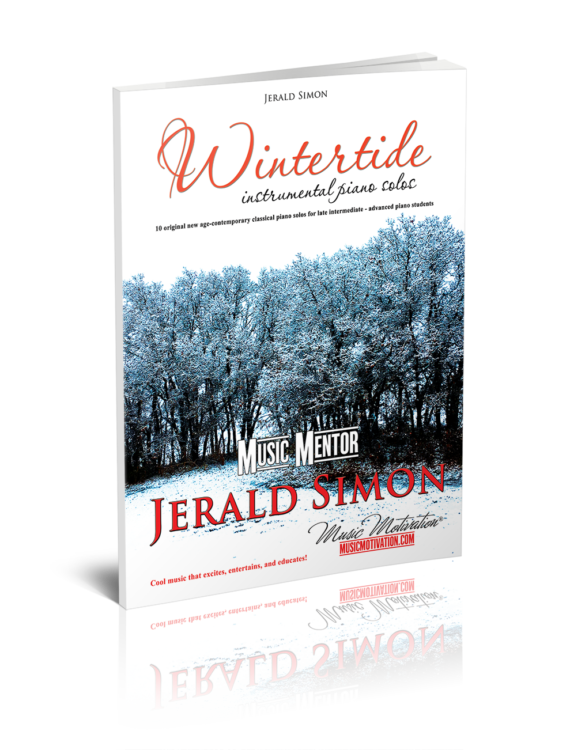 Book Cover Image of Wintertide by Jerald Simon